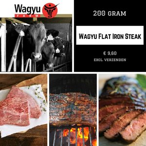 Flat Iron Steak ca. 200 gram