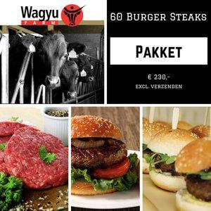 Wagyu Pakket Burgers 60