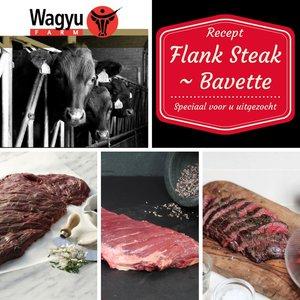 Recept Flank steak (Bavette of Vinkenlap) op zijn Amerikaans
