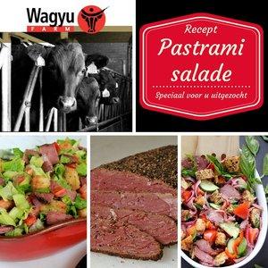 Recept Wagyu Pastrami salade