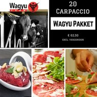 Wagyu Pakket Carpaccio