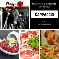 Wagyu Carpaccio